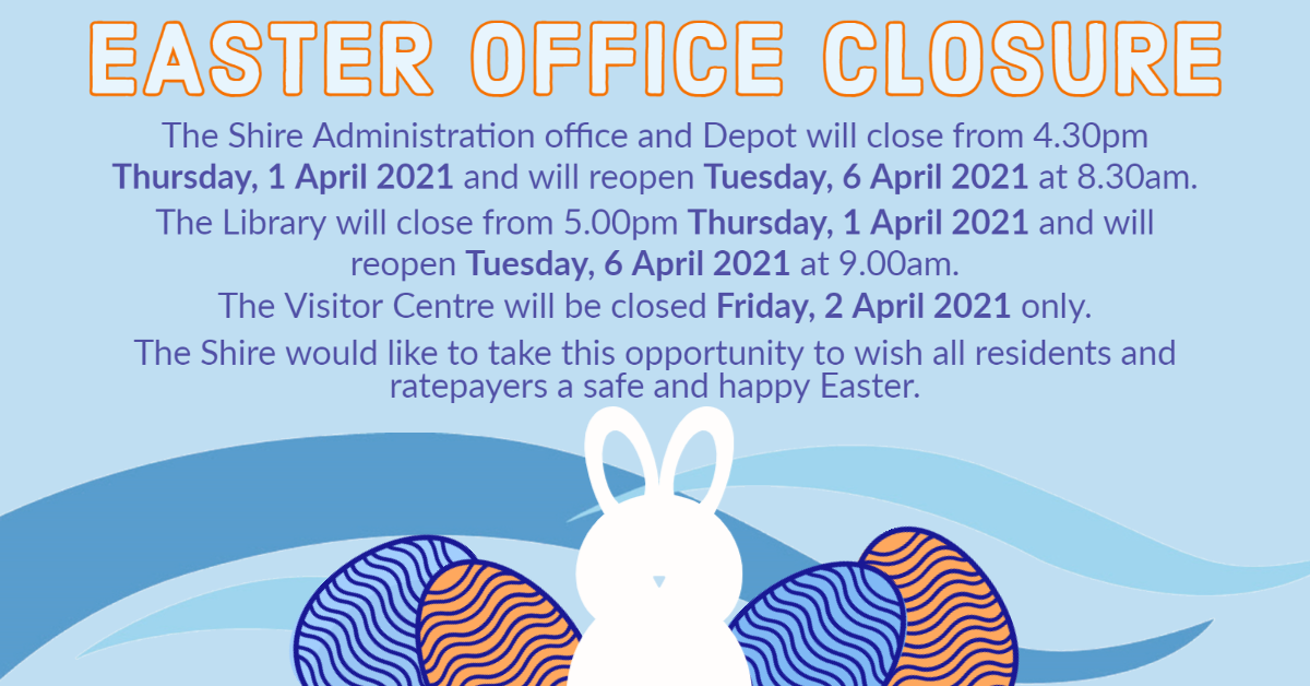 EASTER OFFICE CLOSURE