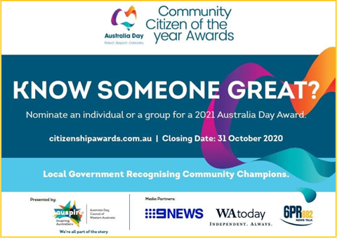Australia Day Community Citizen of the Year Awards 2021