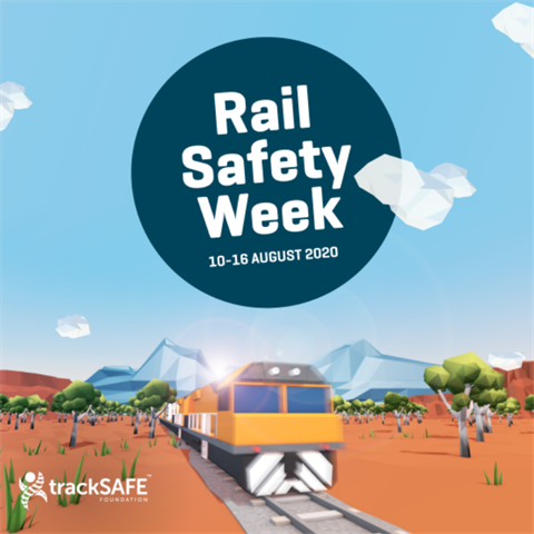 STOP, LOOK, LISTEN and THINK It's Rail Safety Week!