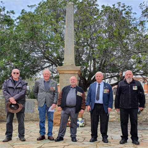 RSL Toodyay Sub-Branch Commemorates 54th Vietnam Veterans Day